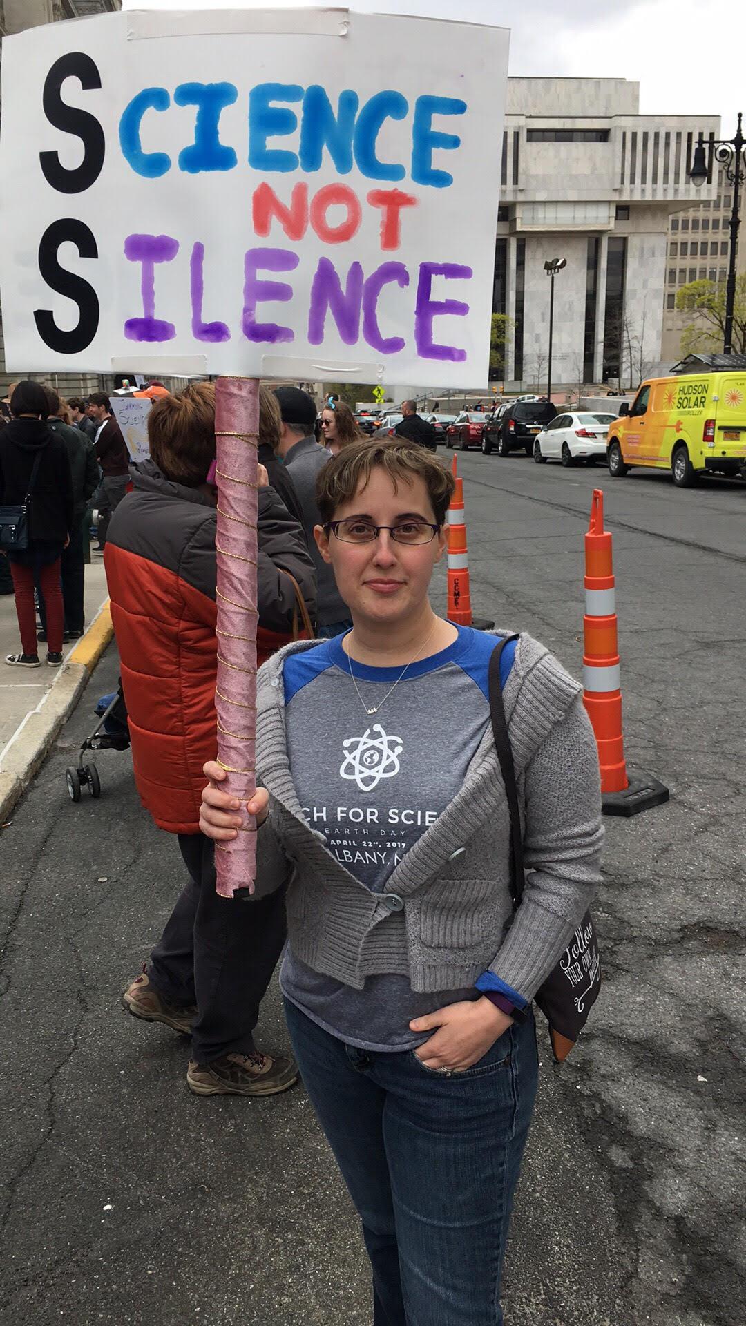 Science Not Silence- Albany NY